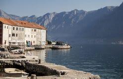 镇在地中海 库存图片