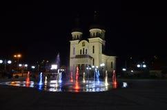 镇在罗马尼亚 图库摄影