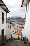镇库斯科在秘鲁 免版税图库摄影