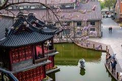 镇江Xijin Du Street Theater 免版税图库摄影