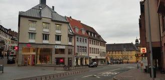镇的风景 免版税库存照片