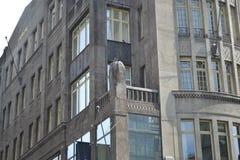 镇的建筑学城市†‹â€ ‹街道 免版税库存照片
