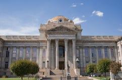镇科罗拉多县法院大楼 免版税图库摄影
