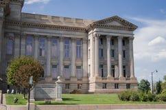 镇科罗拉多县法院大楼 库存照片