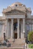 镇科罗拉多县法院大楼 免版税库存图片