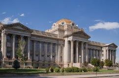 镇科罗拉多县法院大楼 免版税库存照片