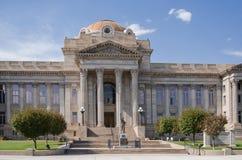 镇科罗拉多县法院大楼 库存图片