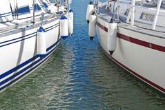 镇静五颜六色的汽艇水 库存照片