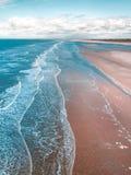 镇静海滩 库存照片