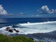镇静海洋微风 免版税库存照片