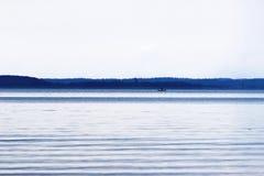 镇静湖 库存图片