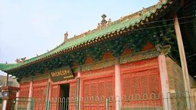 镇God& x27; s寺庙,河南,洛阳 图库摄影