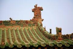 镇God& x27; s寺庙,河南,洛阳 库存照片