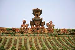 镇God& x27; s寺庙,河南,洛阳 免版税库存图片
