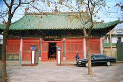 镇God& x27; s寺庙,河南,洛阳 免版税库存照片