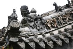 镇God& x27; s寺庙,郑州 库存照片
