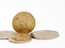镑英国 免版税图库摄影