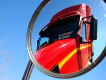 镜子卡车 免版税库存图片