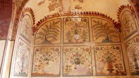 镜子壁画宫殿 免版税图库摄影