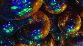 镜子球反射色的光光芒  影视素材