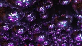 镜子球反射色的光光芒  股票录像