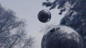 镜子球 免版税图库摄影
