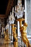 镜子的霍尔,大别墅de凡尔赛 免版税库存照片