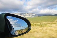 镜子视图 免版税库存照片