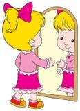 镜子 图库摄影