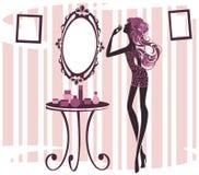 镜子 免版税库存图片