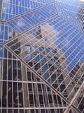 镜象反射在悉尼市 库存照片