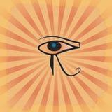 镭的眼睛 免版税库存照片