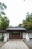 镰仓寺庙  免版税库存照片