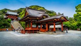 镰仓寺庙 免版税图库摄影
