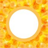 镶有钻石的旭日形首饰背景的光束 免版税库存照片