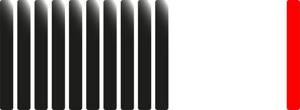 镶边垂直 在题材的例证,配合 免版税库存照片