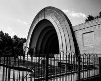 镶边外形-在公平的公园的建筑学 免版税库存照片