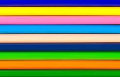 镶边的抽象背景铅笔 免版税库存图片