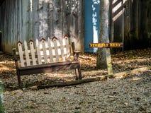 长凳休息 图库摄影