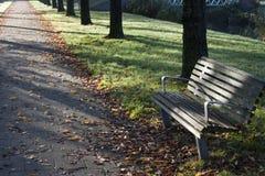 长凳公共 免版税库存照片