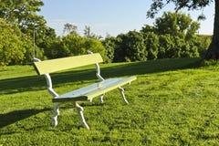 长凳公园 免版税库存照片