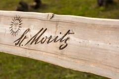 长凳在圣盛生 库存图片