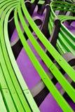 长凳城市绿色新的公园约克 库存照片