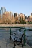 长凳城市 免版税库存图片