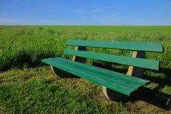 长凳天然公园 免版税库存图片