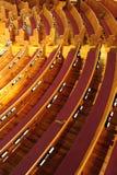 长凳教会 库存图片
