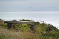 长凳有视图 库存图片