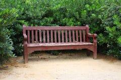 长凳木头 库存照片