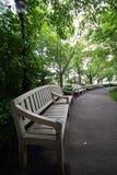 长凳木头 免版税库存图片