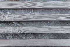 长凳板的纹理 库存照片